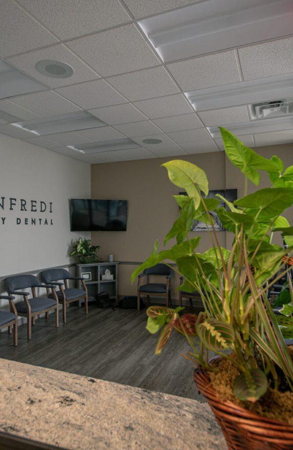 Monfredi Family Dental Front Lobby