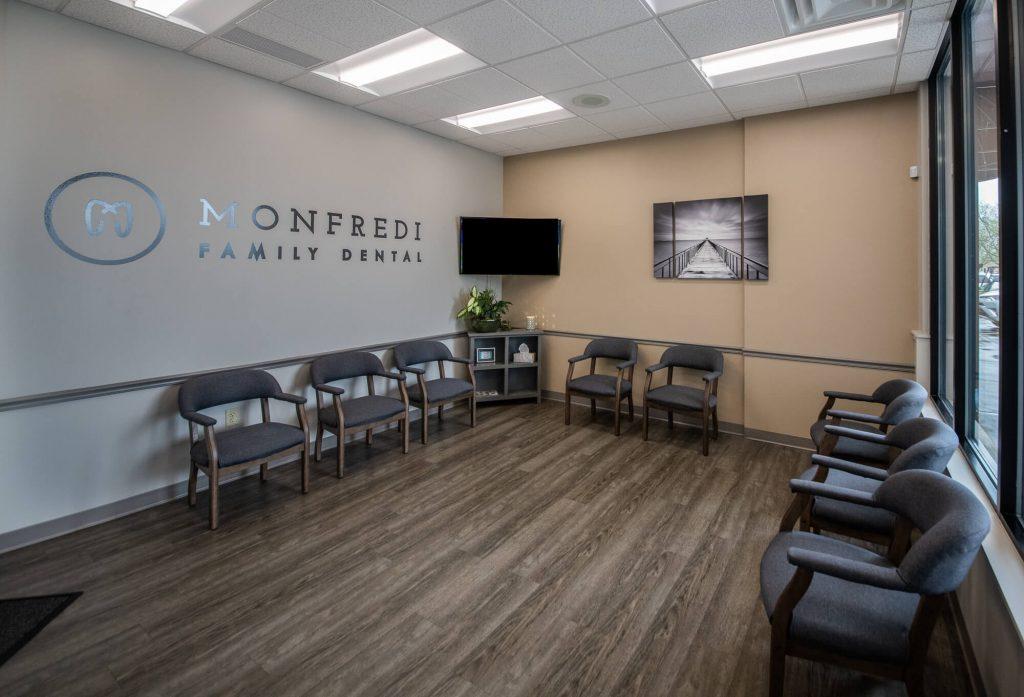 Monfredi Family Dental Lobby