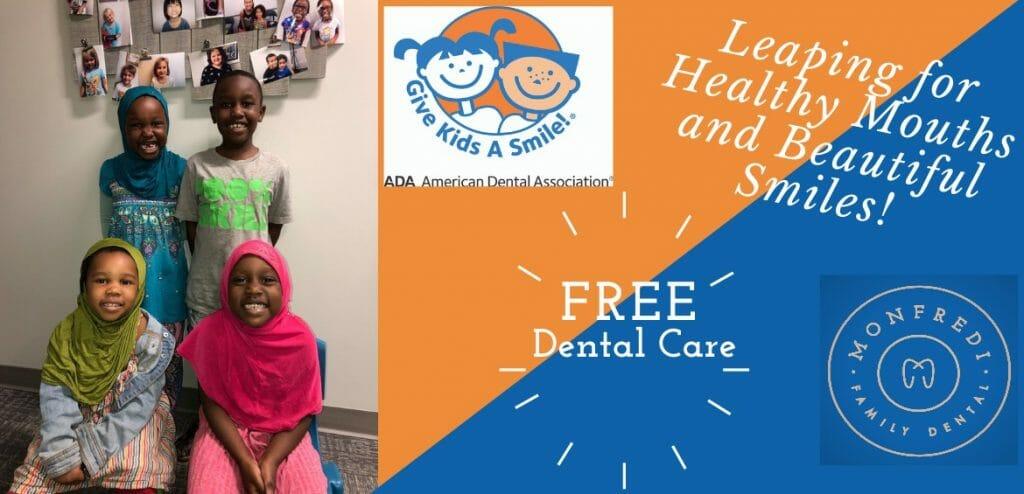 "Monfredi Family Dental is Hosting ""Give Kids a Smile""!"